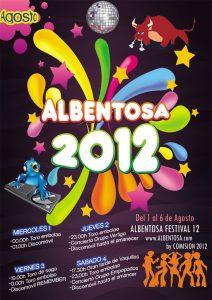 Cartel publicitario. albentosa2012