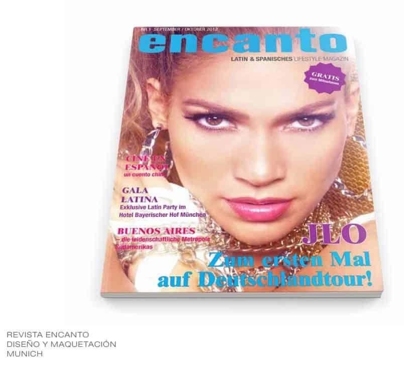 Diseño Portada de revista