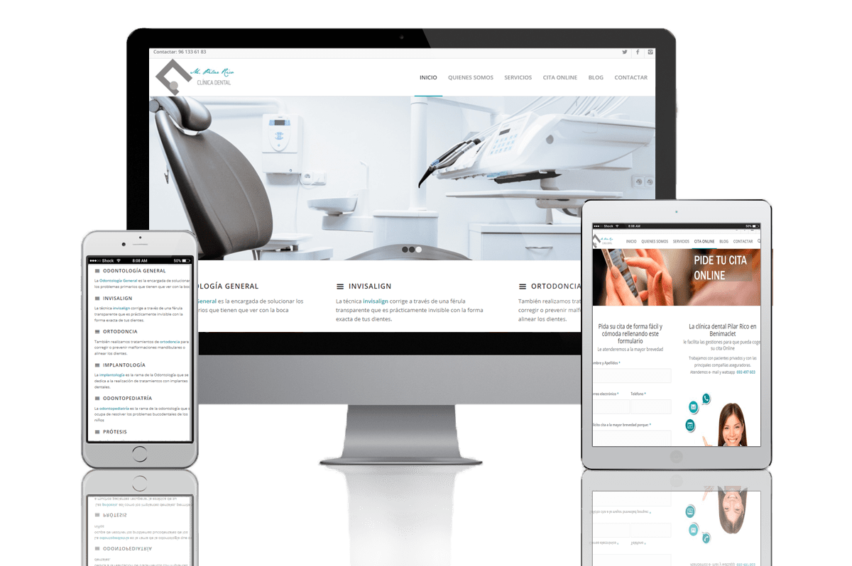 Proyecto Web B2B Activa Pilar Rico