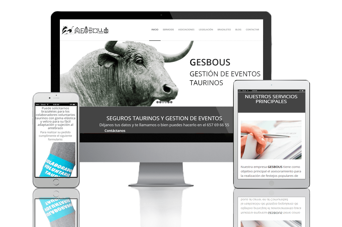 Proyecto Web B2B Activa Gesbous