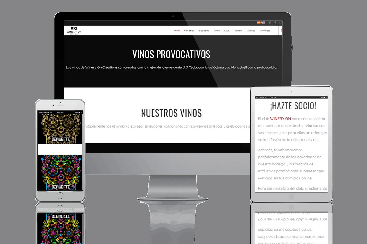 Proyecto Web B2B Activa WineryOn