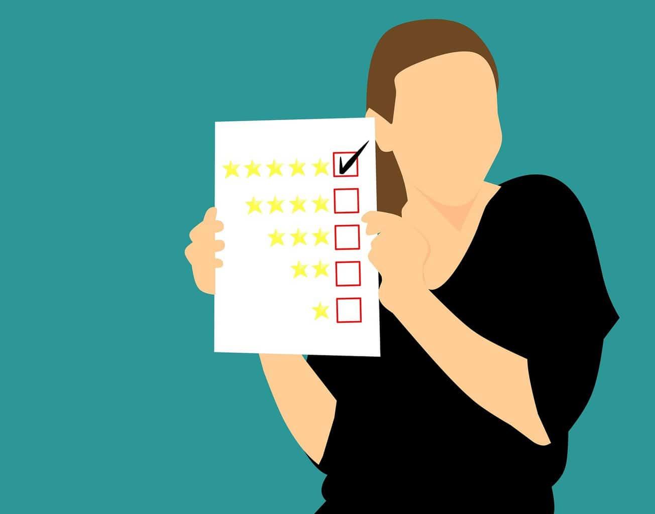 opiniones online de los clientes