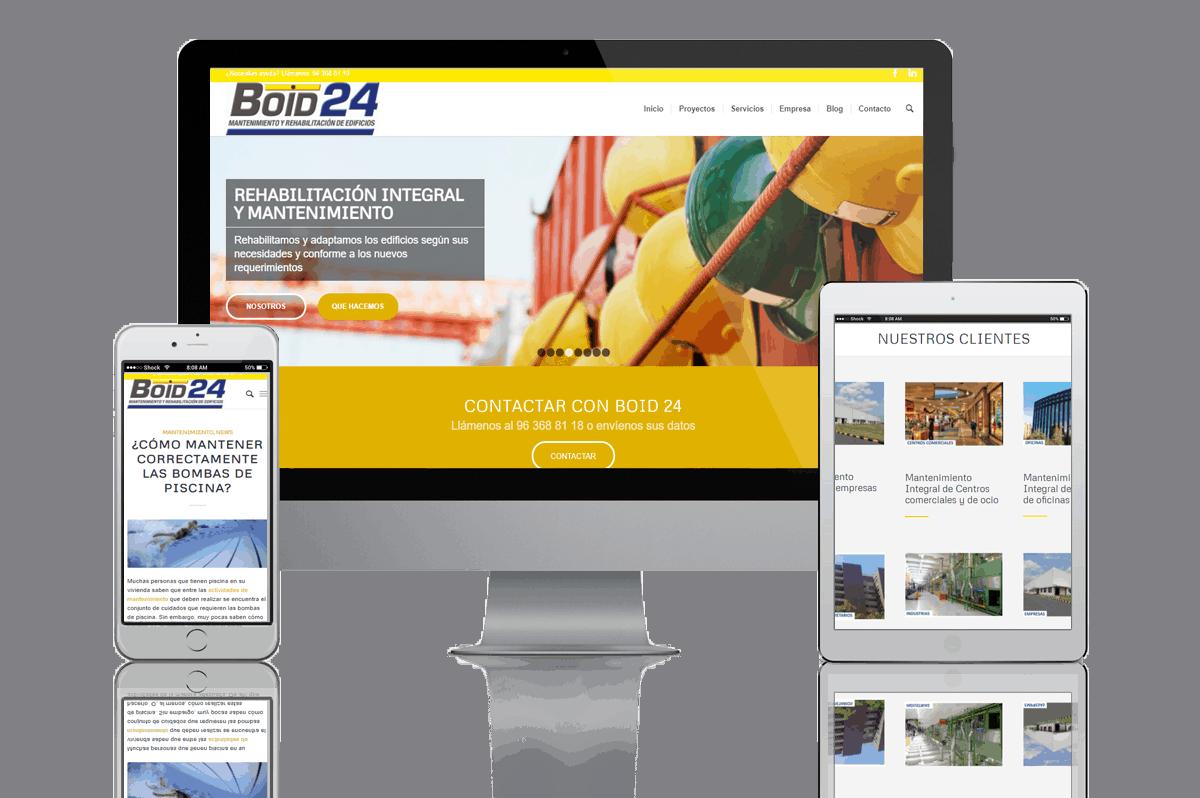 Proyecto Web B2B Activa Boid24