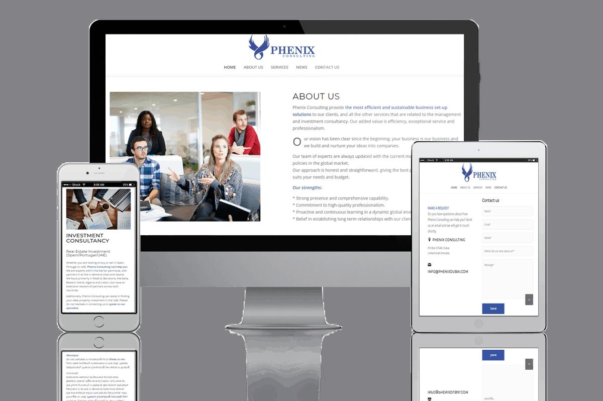 Proyecto Web B2B Activa Phenix Dubai