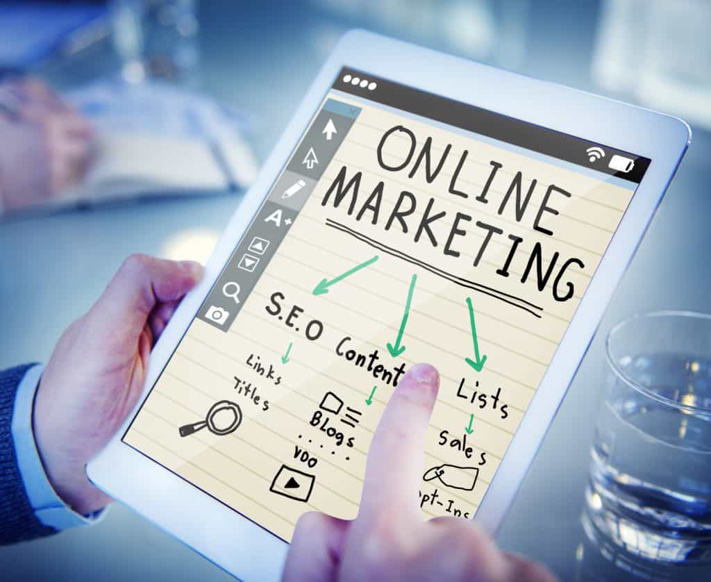Posicionamiento web marketing online